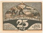 25 Pfennig (Boizenburg) – reverse