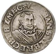 ¼ Thaler - Johann Albrecht II. – obverse
