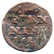 2 Pfennig - Johann Albrecht II – reverse