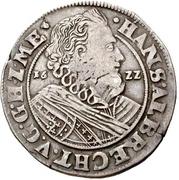 ½ Thaler - Johann Albrecht II. – obverse