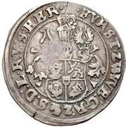 ½ Thaler - Johann Albrecht II. – reverse