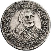 ½ Reichsort - Johann Albrecht II. – obverse
