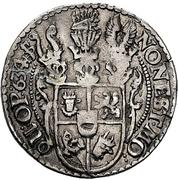 ½ Reichsort - Johann Albrecht II. – reverse