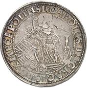 1 Thaler - Karl I. – obverse