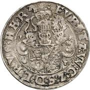 ¼ Thaler - Johann Albrecht II. – reverse