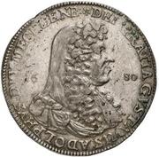 1 Thaler - Gustav Adolph – obverse