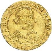 1 Ducat - Johann Albrecht II. – obverse