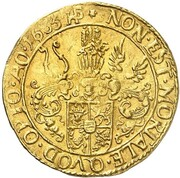 1 Ducat - Johann Albrecht II. – reverse