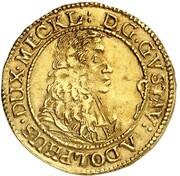 1 Ducat - Gustav Adolf – obverse