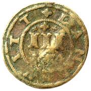 3 Pfennig - Johann Albrecht II – reverse