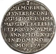 1 Thaler - Johann Albrecht II. (Death of Margaretha Elisabeth) – reverse