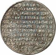 2 Thaler - Johann Albrecht II. (Death) – reverse