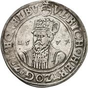 1 Thaler - Ulrich III (Zwittertaler) – obverse