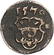 1 Scherf - Ulrich III. – obverse