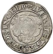 1 Doppelschilling - Ulrich III. – reverse