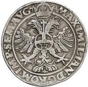 1 Taler - Ulrich III – reverse