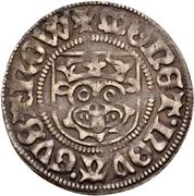 1 Sechsling - Magnus II and Balthasar (Güstrow) – reverse