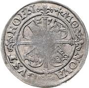 1 Groschen - Albrecht VII – reverse