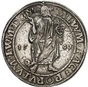 1 Thaler - Albrecht VII (Salvatortaler) – reverse