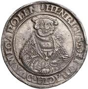 1 Thaler - Heinrich V – obverse