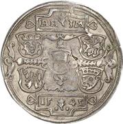 ½ Thaler - Albrecht VII – reverse