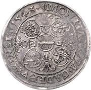 1 Thaler - Albrecht VII – reverse
