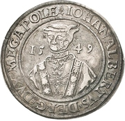 1 Thaler - Johann Albrecht I – obverse