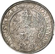 1 Thaler - Johann Albrecht I – reverse