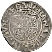 1 Schilling - Johann Albrecht I. – obverse