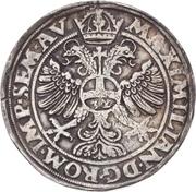 1 Thaler - Ulrich III – reverse