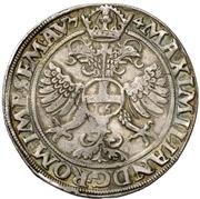 ½ Thaler - Ulrich III – reverse