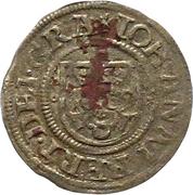 1 Dreiling - Johann Albrecht I. – obverse