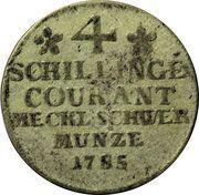 4 Schilling - Friedrich Franz I – reverse