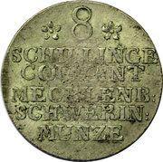 8 Schilling Courant - Friedrich II – reverse