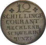 12 Schillinge Courant - Friedrich II – reverse