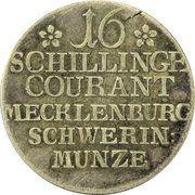 16 Schilling Courant - Friedrich II – reverse