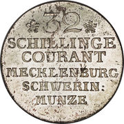 32 Schilling Courant - Friedrich II – reverse