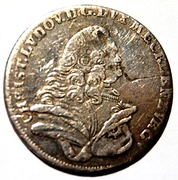 8 Gute Groschen - Christian Ludwig II – obverse