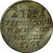 3 Pfennig - Friedrich II – reverse