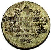 4 Schilling Courant - Friedrich II. – reverse