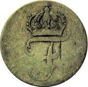 6 Pfennig - Friedrich II – obverse