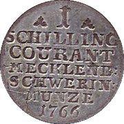 1 Schilling Courant - Friedrich II – reverse