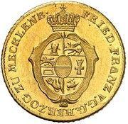 2 Thaler - Friedrich Franz I – obverse
