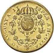 10 Thaler - Christian Ludwig II. – reverse