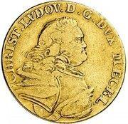 5 Thaler - Christian Ludwig II. – obverse