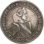 1 Thaler - Adolf Friedrich – obverse