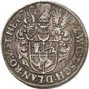 1 Thaler - Adolf Friedrich – reverse