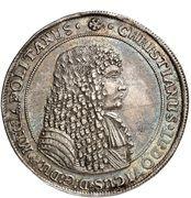 2 Thaler - Christian I Ludwig – obverse