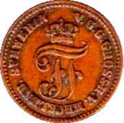 1 Pfennig - Friedrich Franz II – obverse