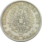 2 Mark - Friedrich Franz II. – reverse